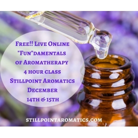 """FUN""damentals of Aromatherapy ALMOST FREE Course"