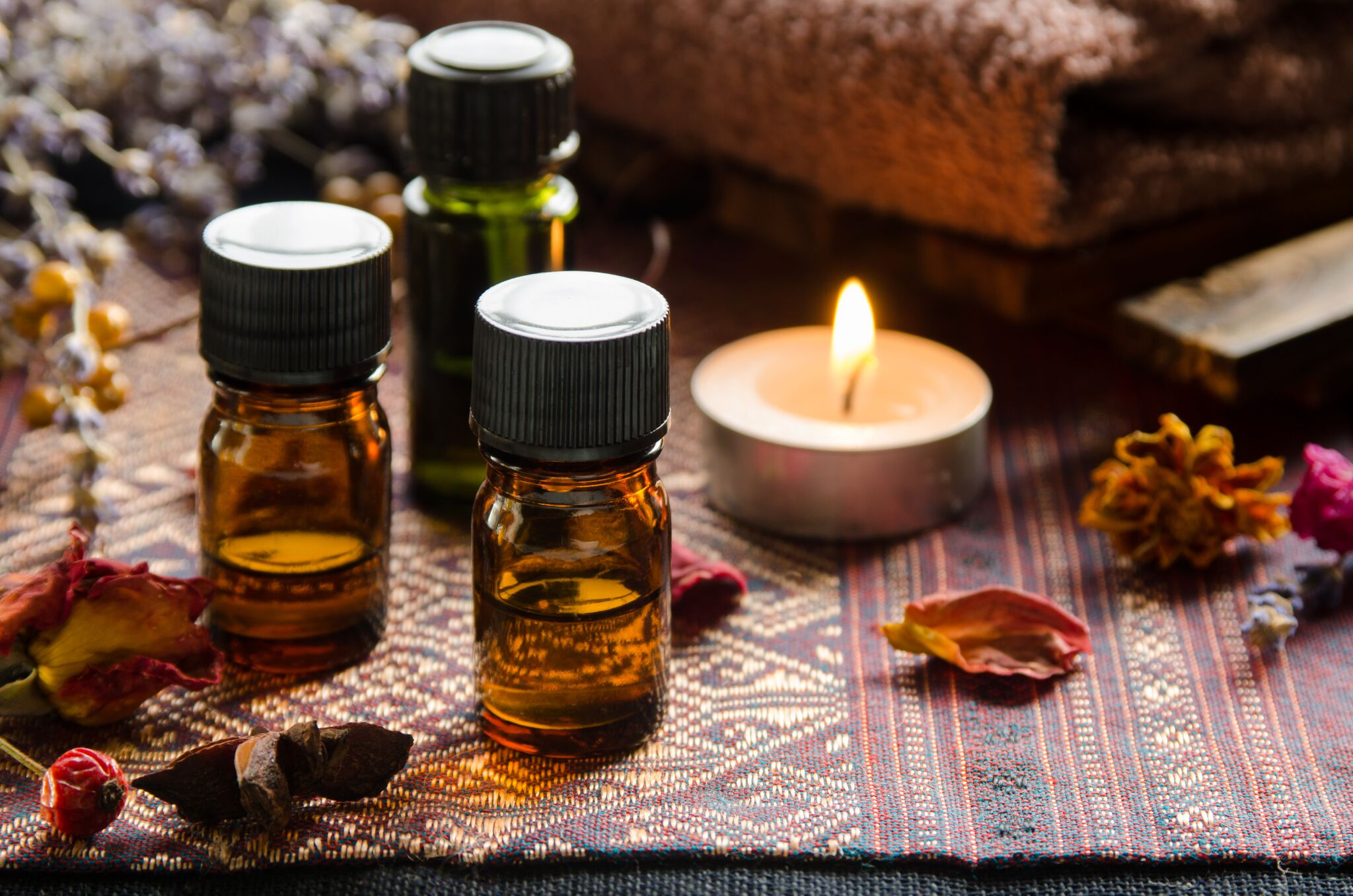 using essential oils